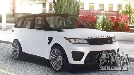 Range Rover SVR White para GTA San Andreas