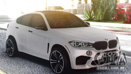 BMW X6M Classic White para GTA San Andreas