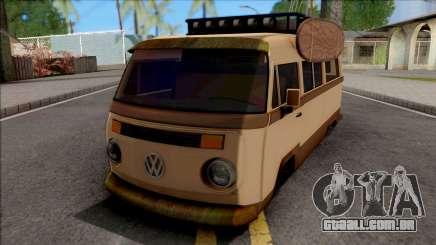 Volkswagen Kombi Classic Retro v2 para GTA San Andreas