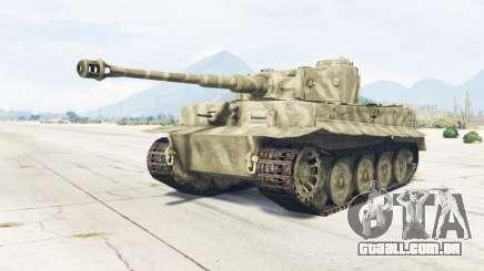 PzKpfw VI Ausf. H1 Tiger para GTA 5