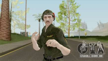 GTA Online Random Skin 30 U.S. Vietnam War Sold para GTA San Andreas