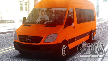 Mercedes-Benz Sprinter com passageiros para GTA San Andreas
