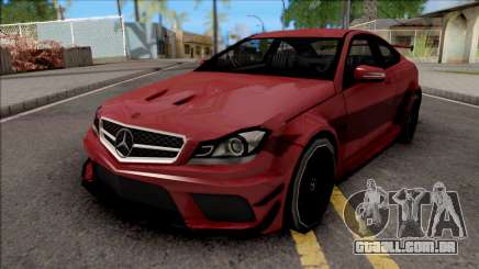 Mercedes-Benz C63 AMG 2014 para GTA San Andreas
