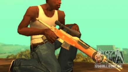 Sniper M14 [Sa Estilo] para GTA San Andreas