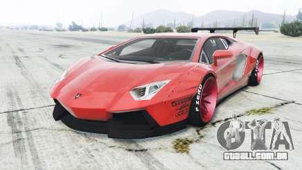 Lamborghini Aventador LP700-4 Liberty Walk para GTA 5