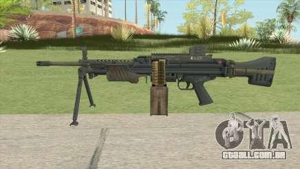 Battlefield 4 MG4 para GTA San Andreas