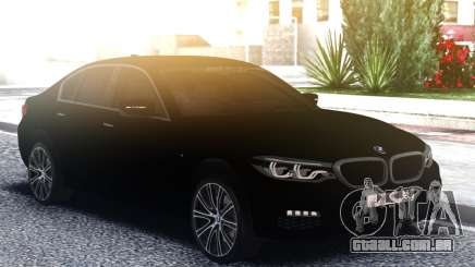 BMW 540i G30 Black para GTA San Andreas