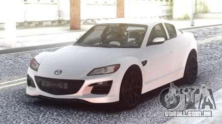 Mazda RX-8 White para GTA San Andreas
