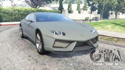 Lamborghini Estoque concept 2008 para GTA 5
