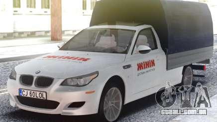 BMW M5 E60 Vagão de entrega de potência para GTA San Andreas