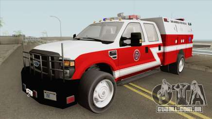 Ford F-250 San Andreas Fire Department 2011 para GTA San Andreas