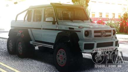 Mercedes-Benz G63 AMG 6x6 Stock para GTA San Andreas