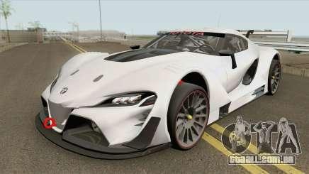 Toyota FT-1 Vision Gran Turismo GR3 (GT3) 2014 para GTA San Andreas