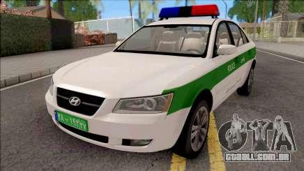 Hyundai Sonata 2009 Police para GTA San Andreas