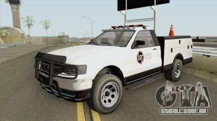 Contender LST Arrow Board GTA V para GTA San Andreas
