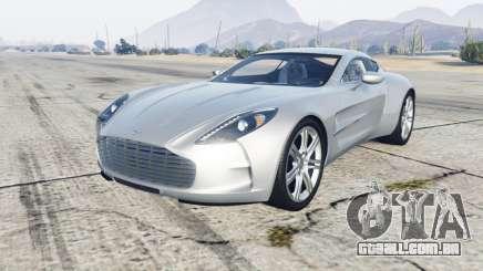 Aston Martin One-77 2012 para GTA 5