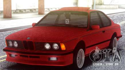BMW M6 E24 Red para GTA San Andreas