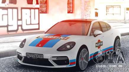 Porsche Panamera MARTINI para GTA San Andreas