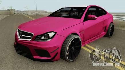 Mercedes-Benz C63 2014 para GTA San Andreas
