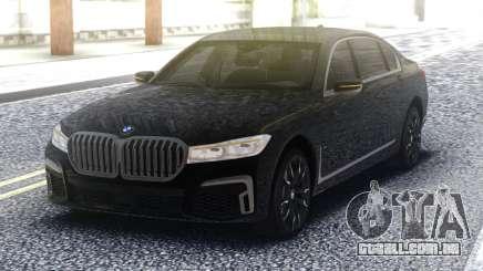2020 BMW 7 series 740i para GTA San Andreas