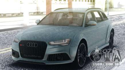Audi RS6 Turbo para GTA San Andreas