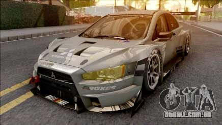 Mitsubishi Lancer Evolution X Final Edition 2015 para GTA San Andreas