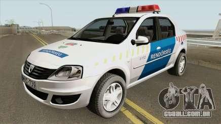 Dacia Logan Magyar Rendorseg para GTA San Andreas