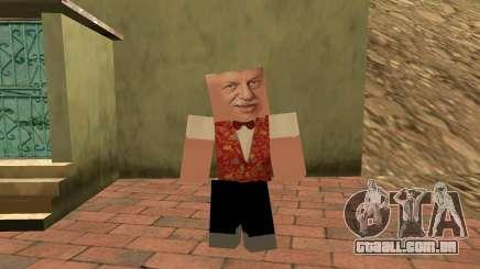 Michael Borisov (chumbo Lotto) no estilo de Minecraft para GTA San Andreas