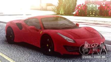 Ferrari 488 Pista 2020 para GTA San Andreas