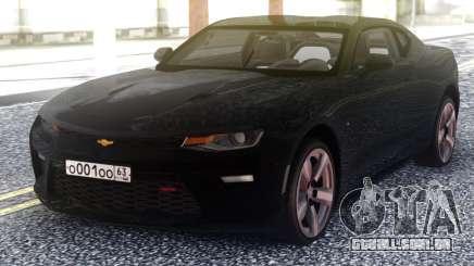 Chevrolet Camaro Black Coupe para GTA San Andreas