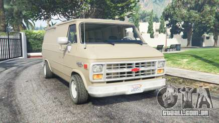 Chevrolet G20 Van grain brown para GTA 5