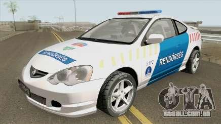 Acura RSX Magyar Rendorseg para GTA San Andreas