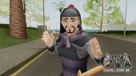 Soldier V1 (Mulan) para GTA San Andreas