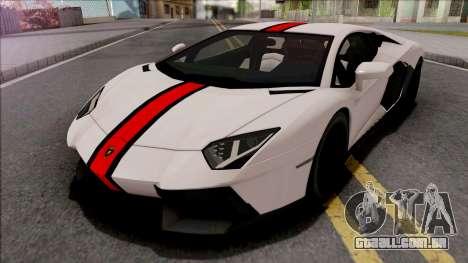 Lamborghini Aventador LP700-4 2011 para GTA San Andreas