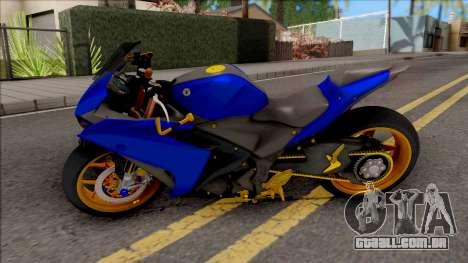 Yamaha R25 Modif Version para GTA San Andreas