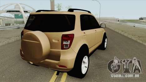 Daihatsu Terios 2009 para GTA San Andreas