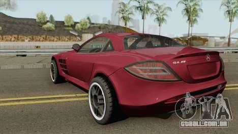 Mercedes-Benz SLR Mclaren 722 2006 para GTA San Andreas