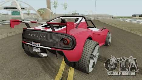 Ocelot Locust GTA V IVF para GTA San Andreas