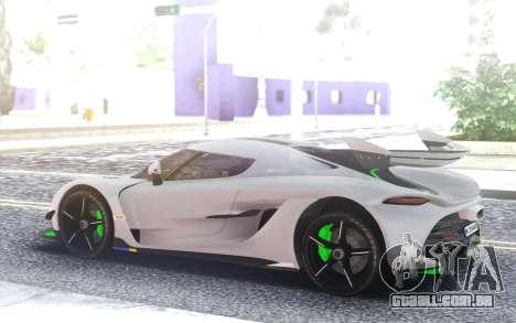 Koenigsegg Jesko 1700hp TURBO KIT para GTA San Andreas