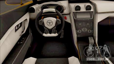 GTA V Truffade Thrax IVF para GTA San Andreas