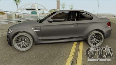 BMW 1 Series M Coupe 2011 para GTA San Andreas