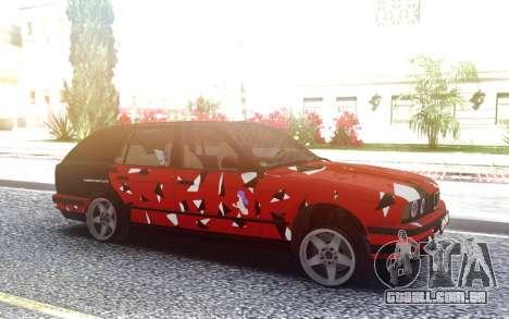 BMW E34 525i para GTA San Andreas