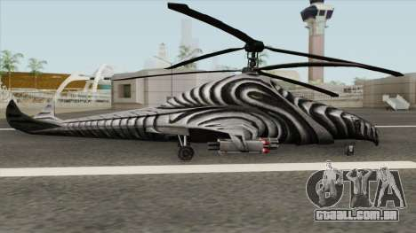 KA-85 Kestrel para GTA San Andreas
