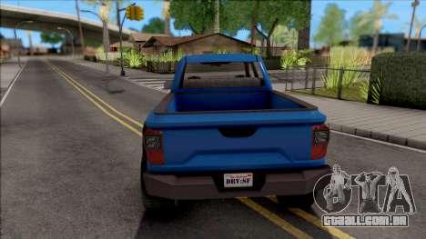 GTA V Vapid Caracara 4x4 para GTA San Andreas