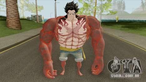 Monkey D. Luffy (Gear Fourth Transformation) para GTA San Andreas
