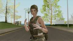 Claire Redfield Military (RE2 Remake) para GTA San Andreas