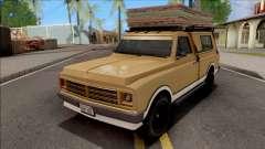 GTA V Declasse Yosemite VehFuncs Style para GTA San Andreas