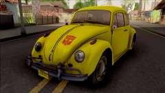 Volkswagen Beetle Transformers G1 Bumblebee para GTA San Andreas