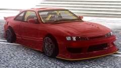 Nissan Silvia S14 Kouki Red para GTA San Andreas