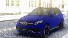 Mercedes-Benz GLE 63S Blue para GTA San Andreas